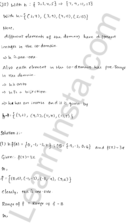 RD Sharma Class 12 Solutions Chapter 2 Functions Ex 2.4 2