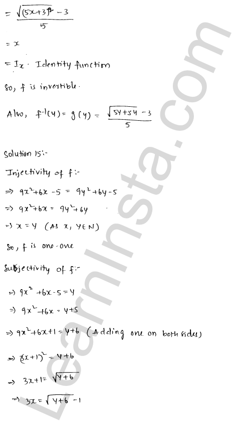 RD Sharma Class 12 Maths Solutions Chapter 2 Functions Ex 2.4 20