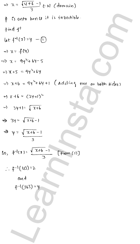 RD Sharma Class 12 Solutions Functions Chapter 2 Ex 2.4 21