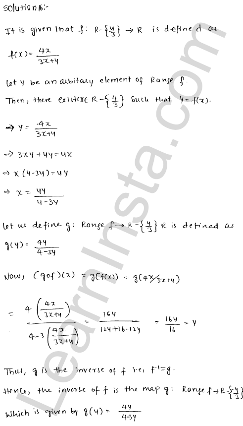 RD Sharma Class 12 Solutions Functions Chapter 2 Ex 2.4 22