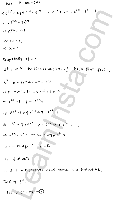 RD Sharma Class 12 Solutions Functions Chapter 2 Ex 2.4 25
