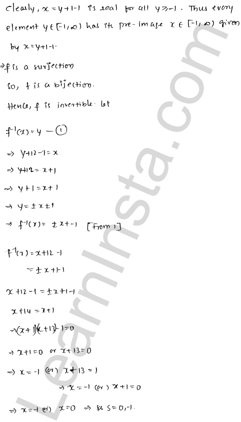 RD Sharma Solutions Class 12 Functions Chapter 2 Ex 2.4 27