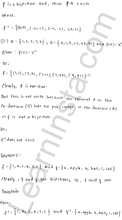 RD Sharma Class 12 Solutions Chapter 2 Functions Ex 2.4 3
