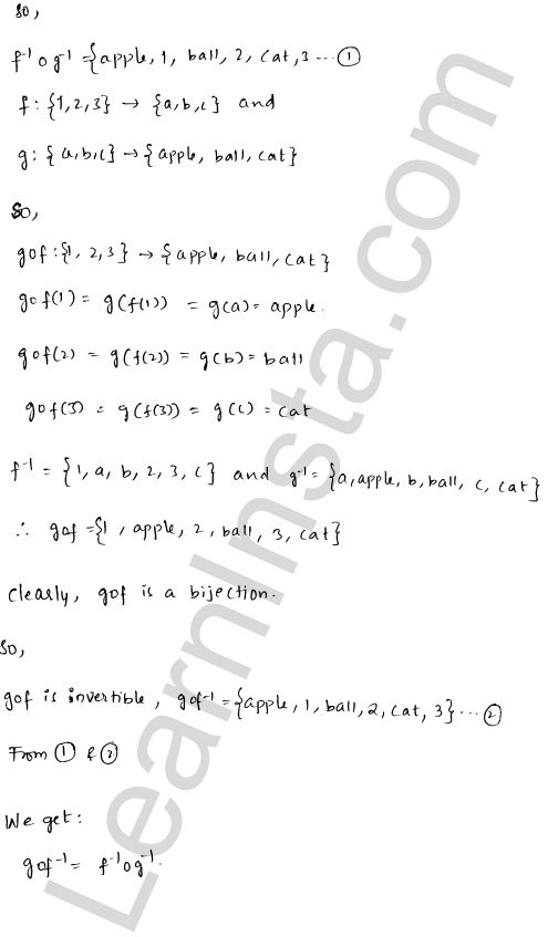 RD Sharma Class 12 Solutions Chapter 2 Functions Ex 2.4 4