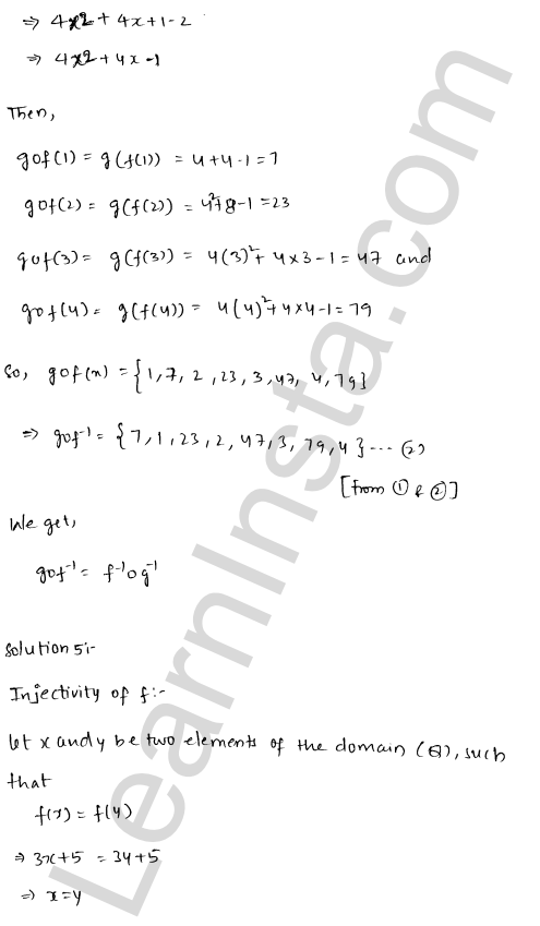 RD Sharma Class 12 Solutions Functions Chapter 2 Ex 2.4 6