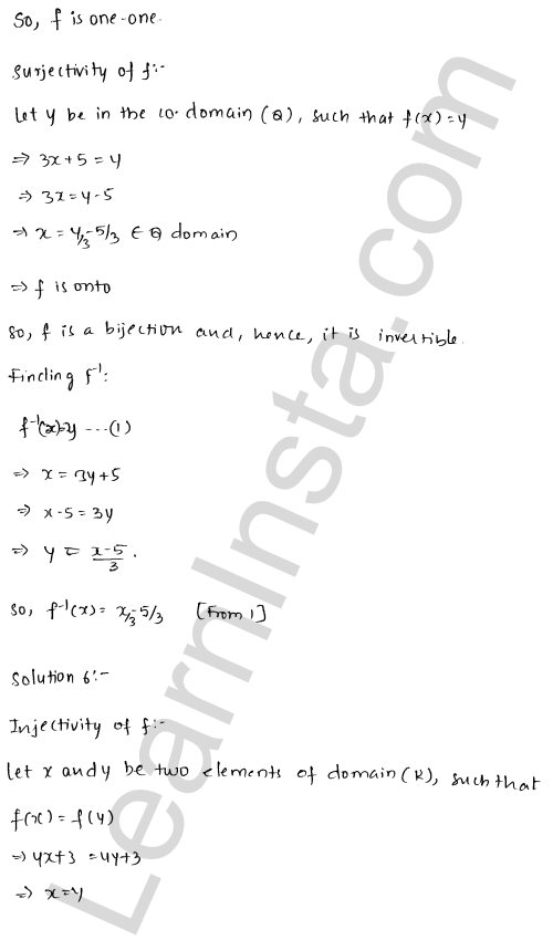RD Sharma Class 12 Solutions Functions Chapter 2 Ex 2.4 7