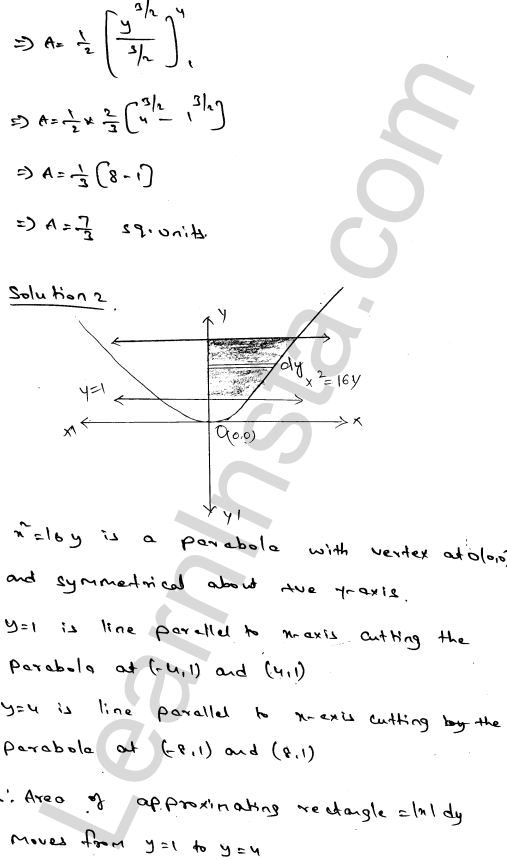 RD Sharma Class 12 Solutions Areas of Bounded Regions Chapter 21 Ex 21.2 2