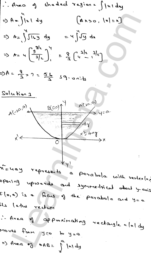 RD Sharma Solutions Class 12 Areas of Bounded Regions Chapter 21 Ex 21.2 3