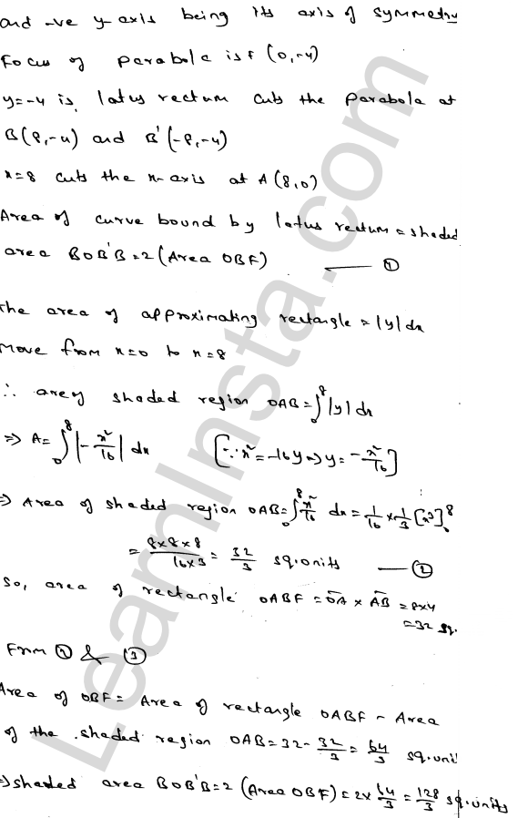Solution of RD Sharma class 12 chapter 21 Areas of Bounded Regions Ex 21.2 5