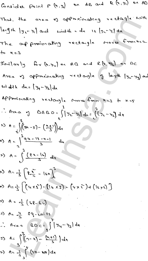 RD Sharma Class 12 Solutions Areas of Bounded Regions Chapter 21 Ex 21.3 10