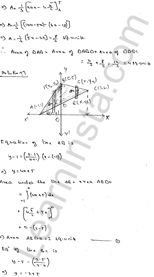 RD Sharma Solutions Class 12 Areas of Bounded Regions Chapter 21 Ex 21.3 11