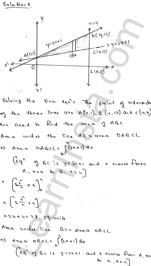RD Sharma Solutions Class 12 Areas of Bounded Regions Chapter 21 Ex 21.3 13