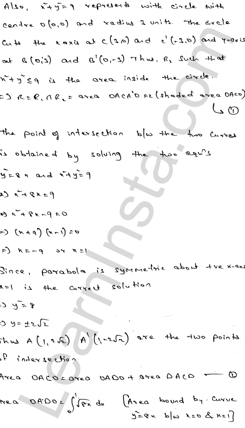 RD Sharma Solutions Class 12 Areas of Bounded Regions Chapter 21 Ex 21.3 15