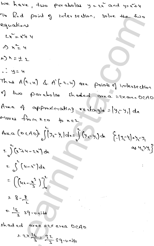 RD Sharma Class 12 Solutions Chapter 21 Areas of Bounded Regions Ex 21.3 37