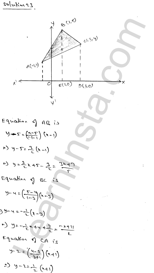 RD Sharma Class 12 Solutions Chapter 21 Areas of Bounded Regions Ex 21.3 39