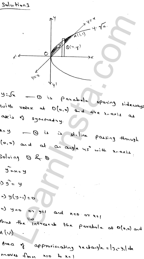 RD Sharma Class 12 Solutions Chapter 21 Areas of Bounded Regions Ex 21.3 4
