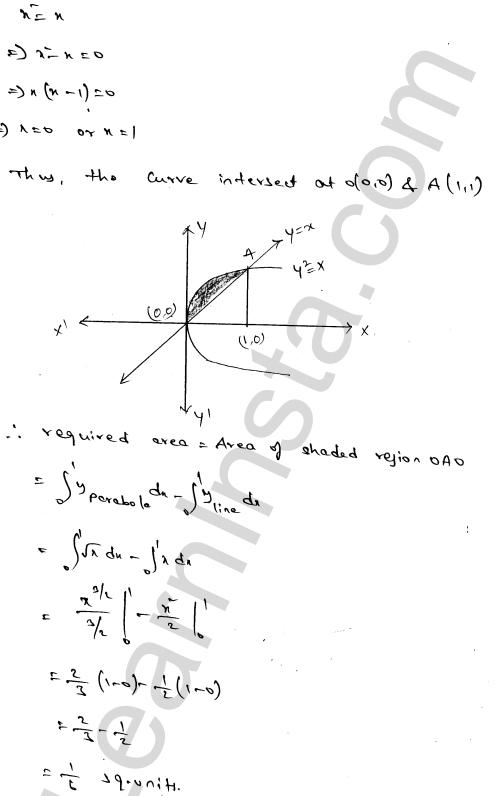 RD Sharma Class 12 Solutions Areas of Bounded Regions Chapter 21 Ex 21.3 41