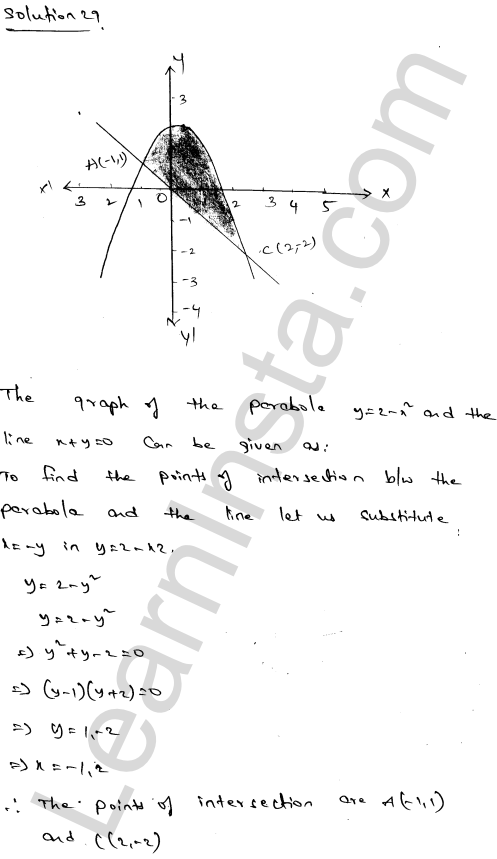 RD Sharma Solutions Class 12 Areas of Bounded Regions Chapter 21 Ex 21.3 48