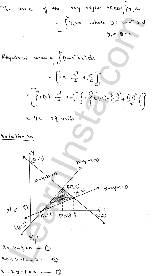 RD Sharma Solutions Class 12 Areas of Bounded Regions Chapter 21 Ex 21.3 49