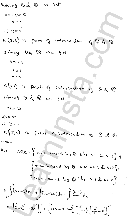 RD Sharma Solutions Class 12 Areas of Bounded Regions Chapter 21 Ex 21.3 50