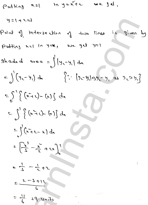 RD Sharma Class 12 Maths Solutions Chapter 21 Areas of Bounded Regions Ex 21.3 52