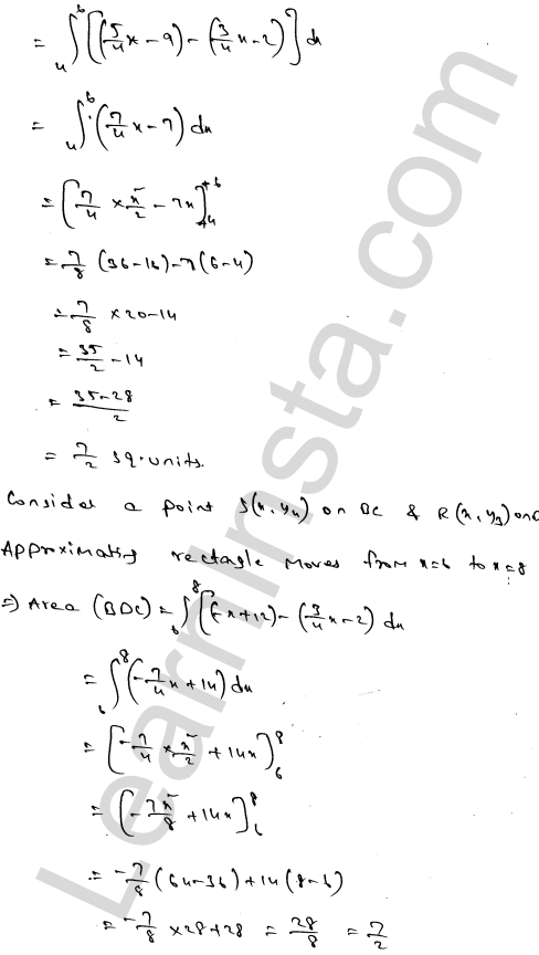 Solution of RD Sharma class 12 chapter 21 Areas of Bounded Regions Ex 21.3 57