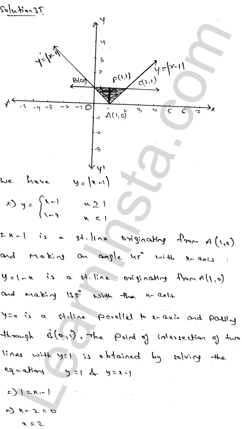 Solution of RD Sharma class 12 chapter 21 Areas of Bounded Regions Ex 21.3 59