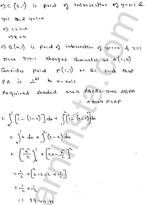 Solution of RD Sharma class 12 chapter 21 Areas of Bounded Regions Ex 21.3 60