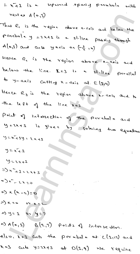 Class 12 RD Sharma maths solutions chapter 21 Areas of Bounded Regions Ex 21.3 66