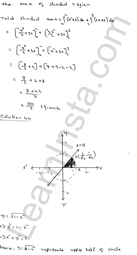 Class 12 RD Sharma maths solutions chapter 21 Areas of Bounded Regions Ex 21.3 67