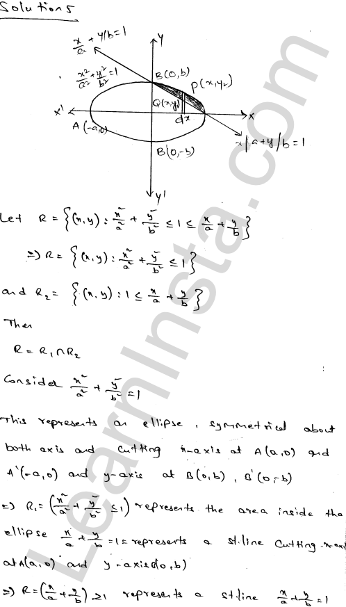 RD Sharma Class 12 Solutions Areas of Bounded Regions Chapter 21 Ex 21.3 7