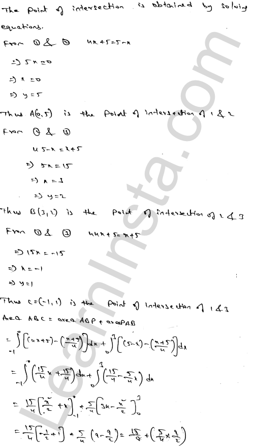 Class 12 RD Sharma maths solutions chapter 21 Areas of Bounded Regions Ex 21.3 70