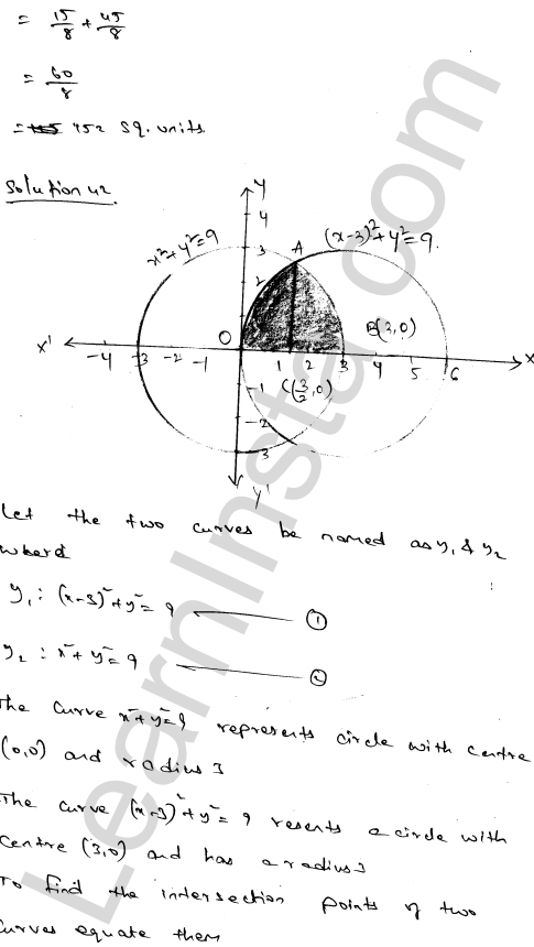 RD Sharma Class 12 Solutions Chapter 21 Areas of Bounded Regions Ex 21.3 71