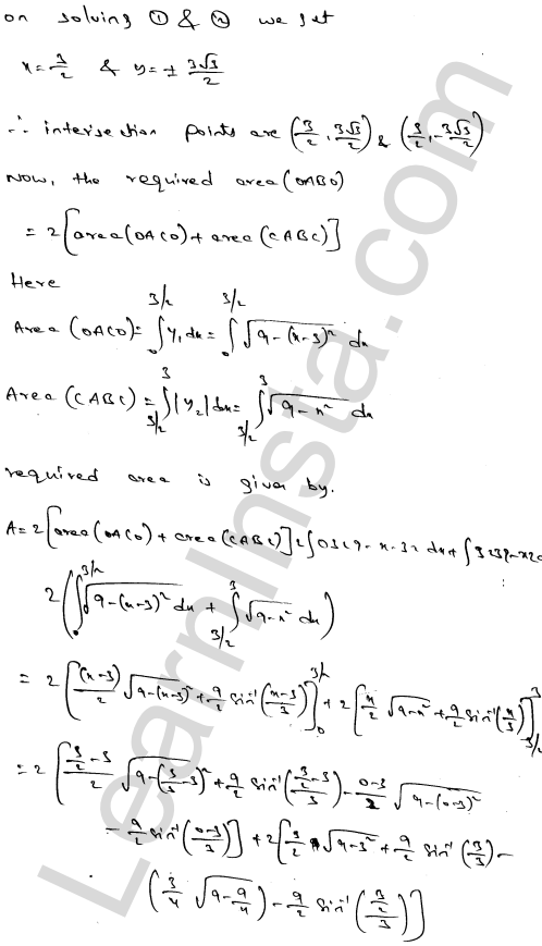 RD Sharma Class 12 Solutions Chapter 21 Areas of Bounded Regions Ex 21.3 72