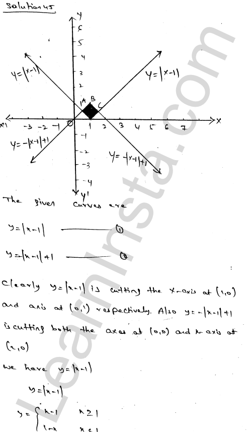 RD Sharma Class 12 Solutions Areas of Bounded Regions Chapter 21 Ex 21.3 77