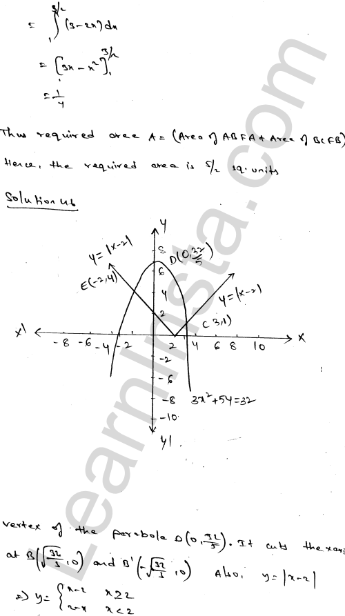 RD Sharma Class 12 Solutions Areas of Bounded Regions Chapter 21 Ex 21.3 79