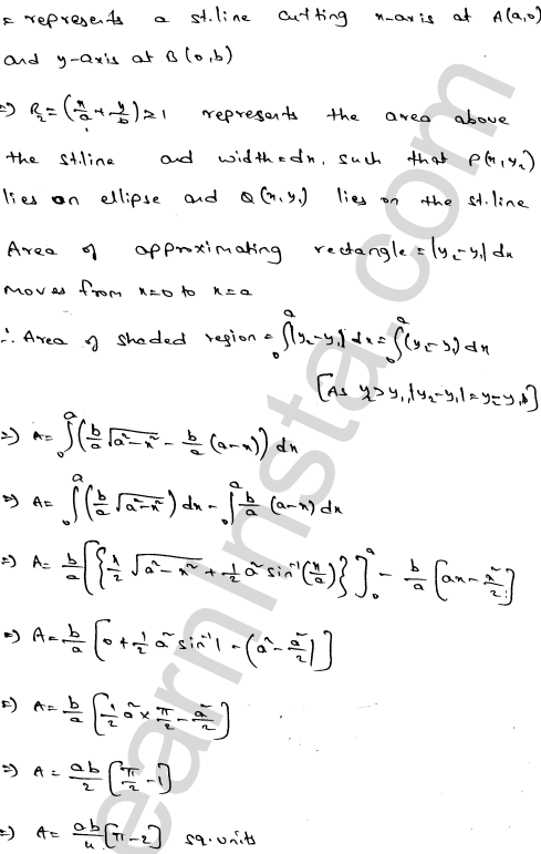 RD Sharma Class 12 Solutions Areas of Bounded Regions Chapter 21 Ex 21.3 8