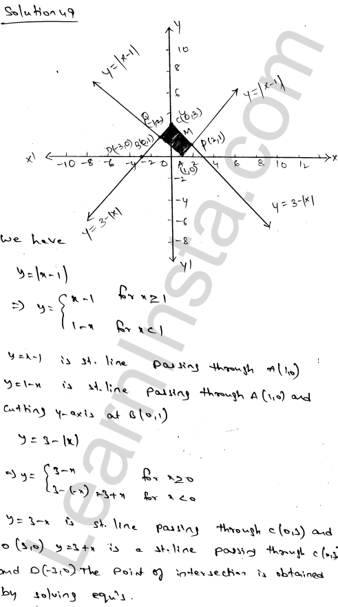 RD Sharma Class 12 Maths Solutions Chapter 21 Areas of Bounded Regions Ex 21.3 86