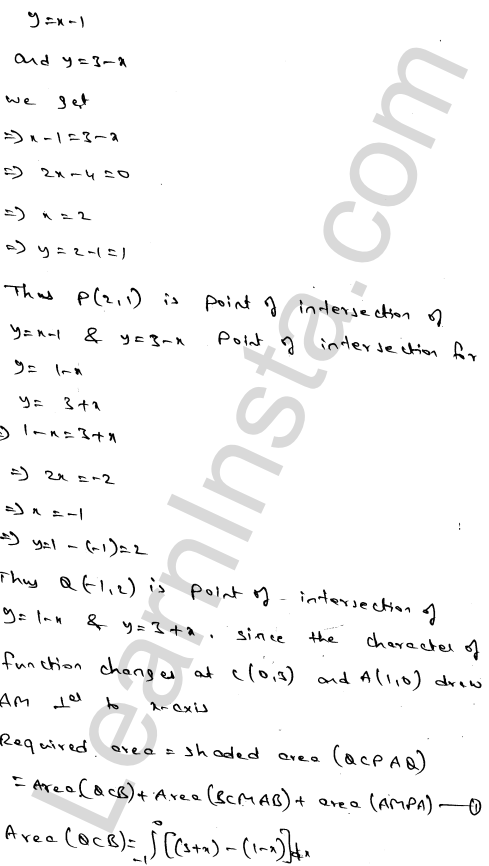 RD Sharma Class 12 Maths Solutions Chapter 21 Areas of Bounded Regions Ex 21.3 87