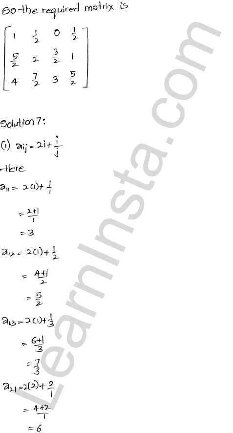 RD Sharma Solutions Class 12 Algebra of Matrices Chapter 5 Ex 5.1 14