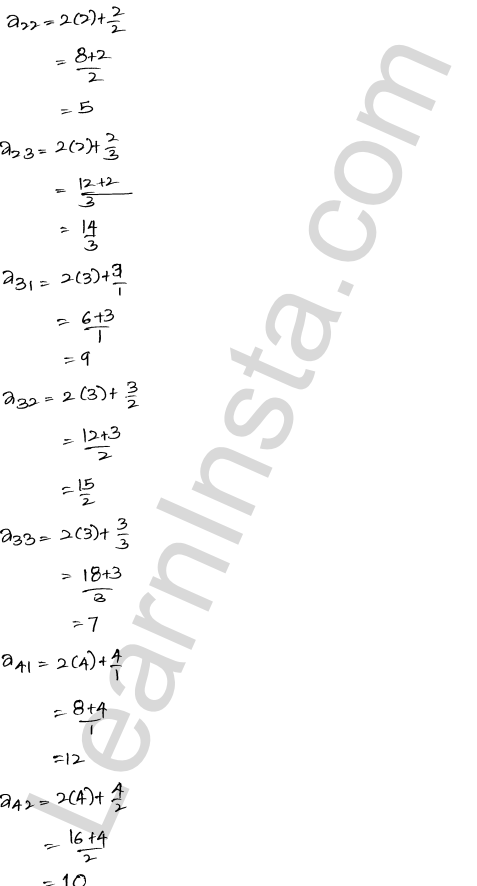 RD Sharma Solutions Class 12 Algebra of Matrices Chapter 5 Ex 5.1 15