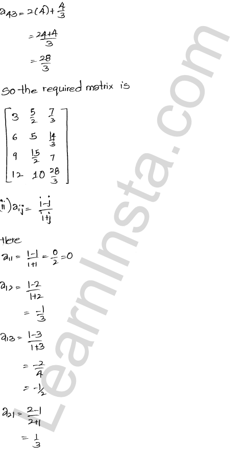 RD Sharma Solutions Class 12 Algebra of Matrices Chapter 5 Ex 5.1 16