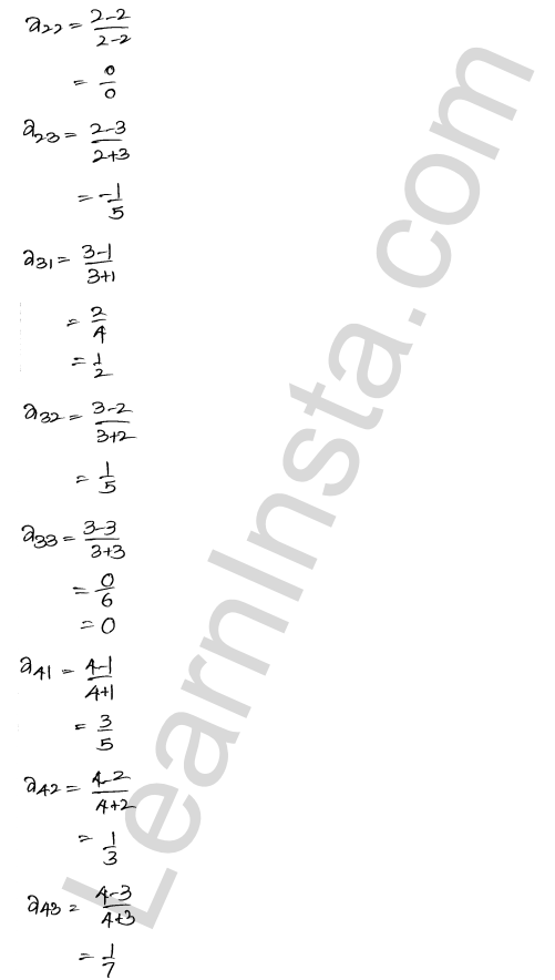 RD Sharma Solutions Class 12 Algebra of Matrices Chapter 5 Ex 5.1 17