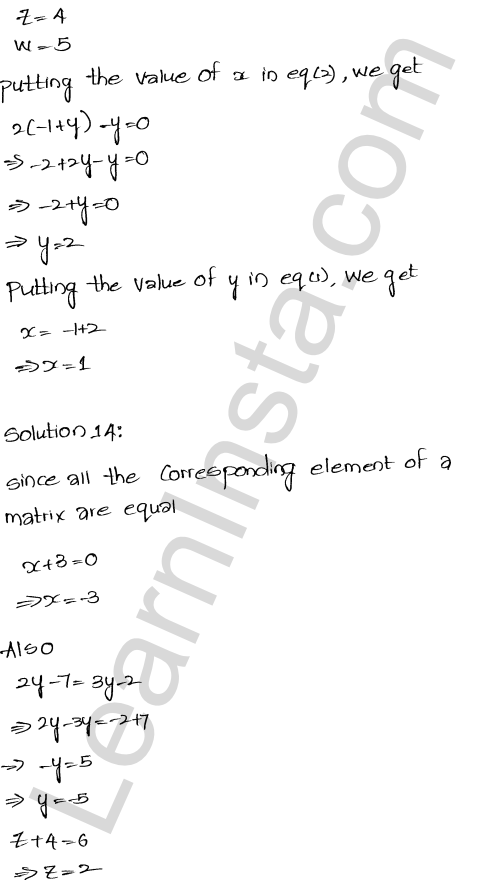 RD Sharma Class 12 Solutions Algebra of Matrices Chapter 5 Ex 5.1 26