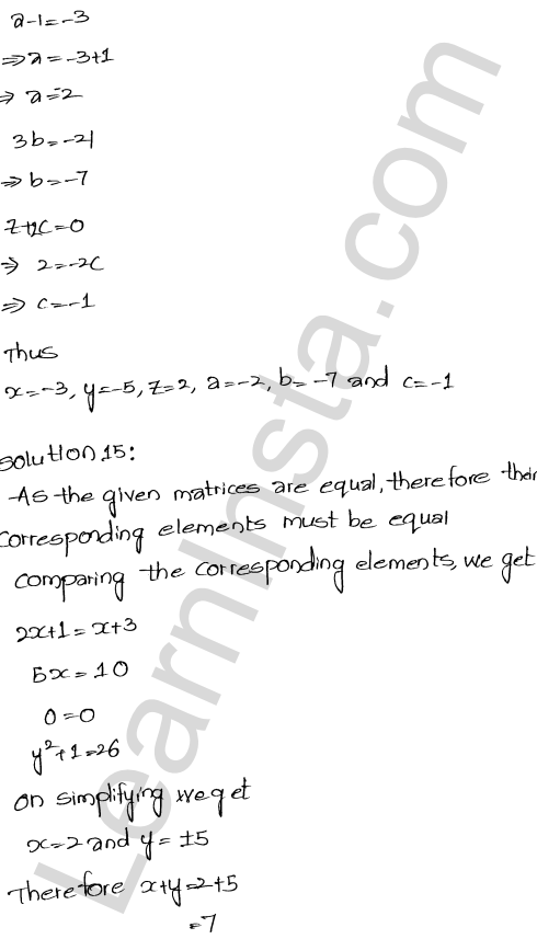 RD Sharma Class 12 Solutions Algebra of Matrices Chapter 5 Ex 5.1 27