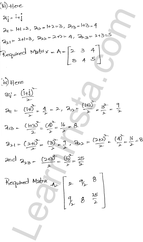 RD Sharma Class 12 Solutions Chapter 5 Algebra of Matrices Ex 5.1 3