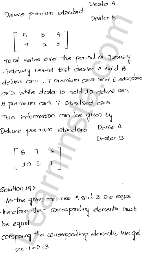 RD Sharma Class 12 Solutions Algebra of Matrices Chapter 5 Ex 5.1 30