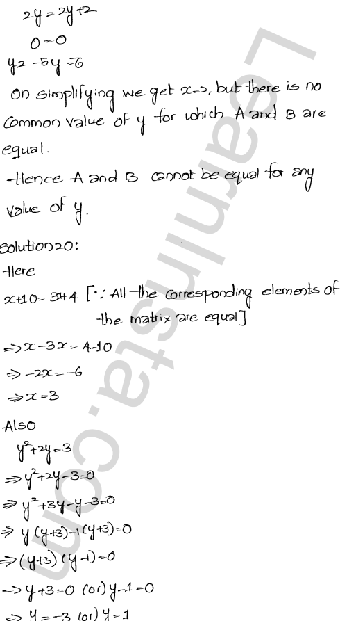 RD Sharma Class 12 Solutions Algebra of Matrices Chapter 5 Ex 5.1 31