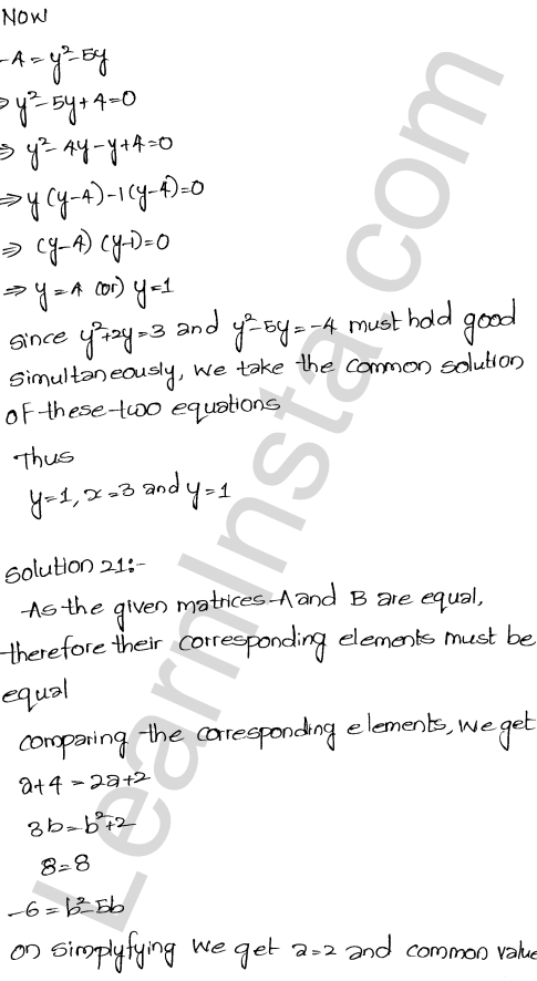 RD Sharma Solutions Class 12 Algebra of Matrices Chapter 5 Ex 5.1 32