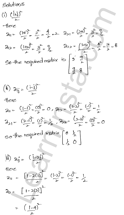 RD Sharma Class 12 Solutions Chapter 5 Algebra of Matrices Ex 5.1 4